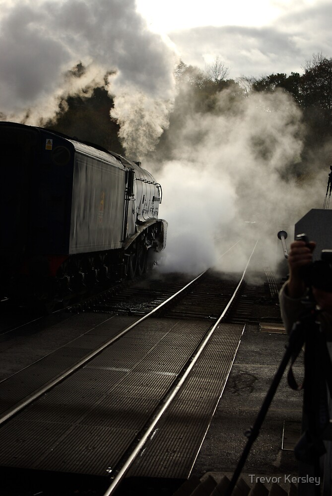 Early Morning at Grosmont by Trevor Kersley