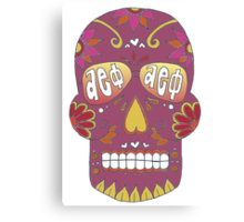 Aephi Sugar Skull Canvas Print