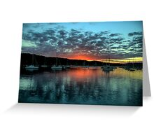 Masters Paint Brush - Newport - Sydney Beaches - The HDR Experience Greeting Card