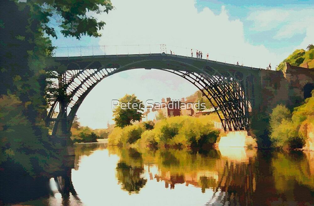 Ironbridge, Shropshire by Peter Sandilands