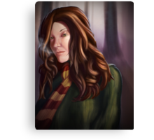 Hermione, Brightest Witch of her Age Canvas Print