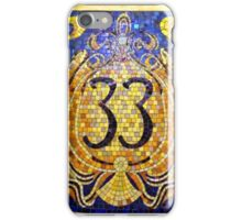 Club 33 iPhone Case/Skin