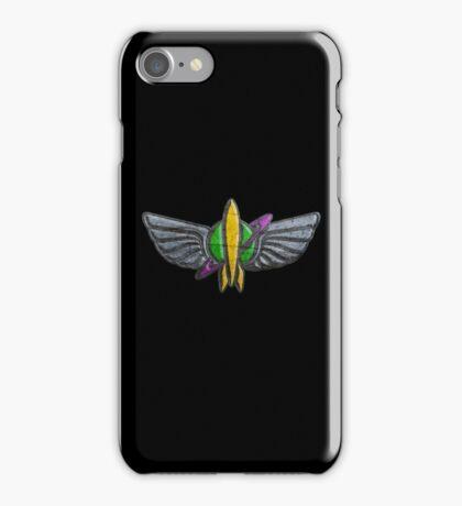 Space Ranger Elite Badge iPhone Case/Skin