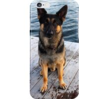 Deutscher Schäferhund - German Shepherd 'Bruno' | Center Moriches, New York iPhone Case/Skin