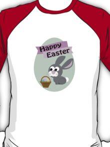Happy Easter Gray Bunny T-Shirt