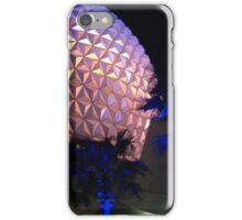 Spaceship Earth at Night iPhone Case/Skin