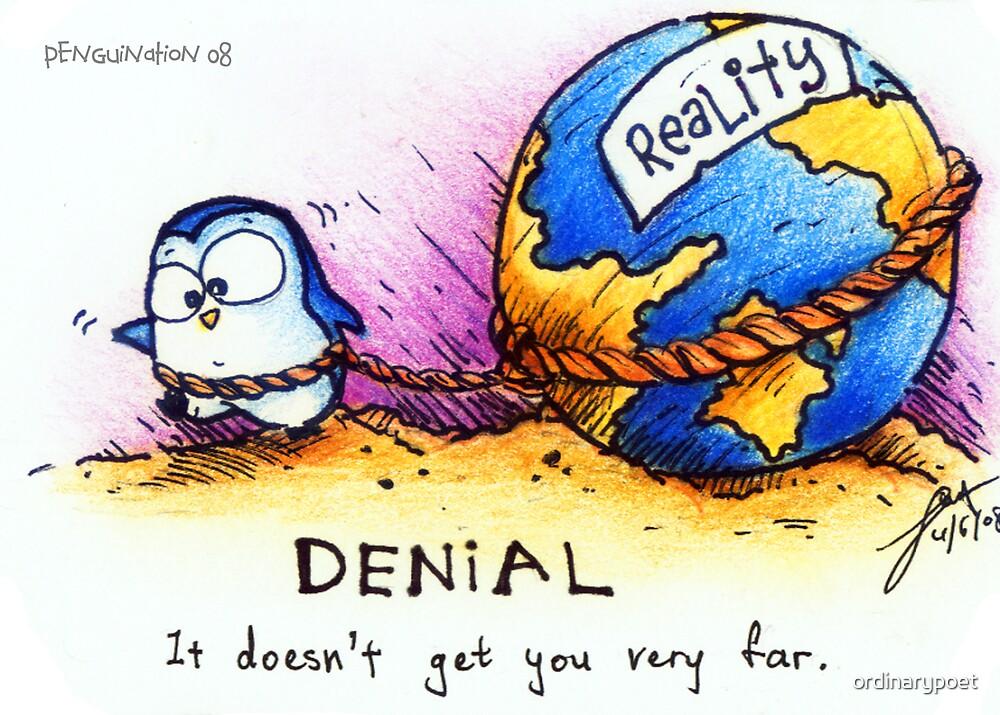 Denial - PenguiNation by ordinarypoet