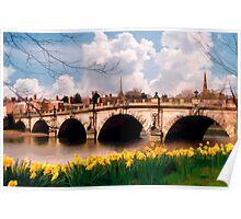 English Bridge, Shrewsbury Poster