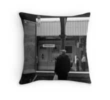 welcome to stockport Throw Pillow