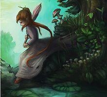 Fantasy rain  by Hilolinor