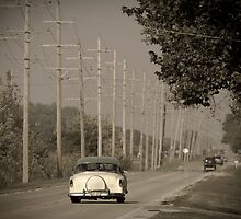 Route 66. Godley 1950's car (Alan Copson ©) by Alan Copson