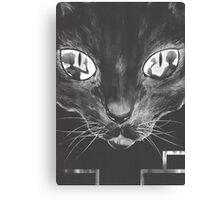 Killing Cat Canvas Print