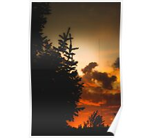 Sunset in Washington state Poster