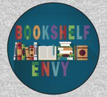 Book Shelf Envy - Black Border  by BookConfessions
