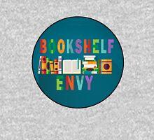Book Shelf Envy - Black Border  Womens Fitted T-Shirt