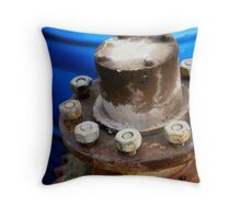Nuts N' Bolts Throw Pillow
