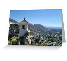 Guadalest, Costa Blanca Greeting Card
