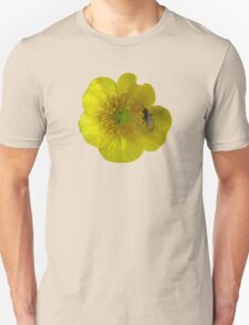 buttercup with insect Unisex T-Shirt