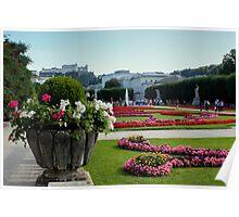 Mirabell Garden, Salzburg Poster
