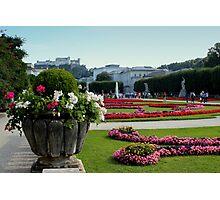 Mirabell Garden, Salzburg Photographic Print