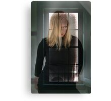 Lady in the Window Canvas Print