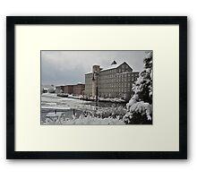 Newmarket Mills Framed Print