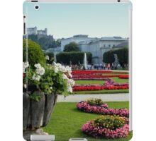 Mirabell Garden, Salzburg iPad Case/Skin