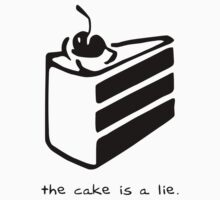 The Cake is a Lie Kids Clothes