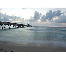 Tranquil Pier Photographic Print