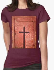 Sign on a Red Iron Door T-Shirt