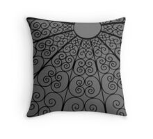 Wired Maze Throw Pillow