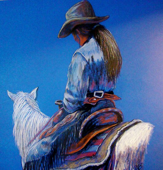 """Cowgirl Blues"" by Susan Bergstrom"