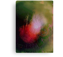 As seen on MyMind: a mental reconstruction of nature's beauty Canvas Print