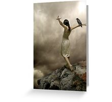 Do we know when we fly? Greeting Card