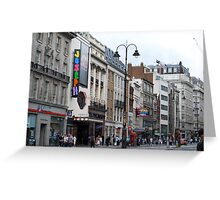 Part of The Strand, London Greeting Card