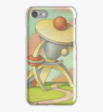 Man with a large collar iPhone Case/Skin