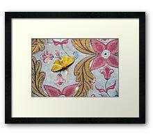 Samadhi Moth Framed Print