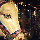 Merry-go-round donkey by Yves Roumazeilles