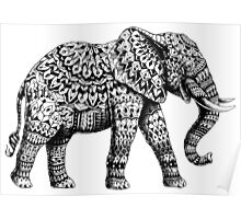 Ornate Elephant 3.0 Poster