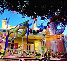 Mardi Gras in New Orleans Square by disneyfied