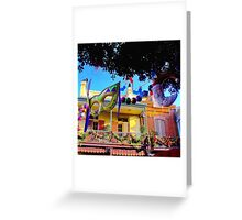 Mardi Gras in New Orleans Square Greeting Card