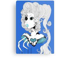 Blue Bust.  Metal Print