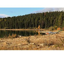 Pyramid Lake, Jasper National Park Photographic Print