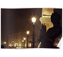 Place de la Concorde - Paris Poster