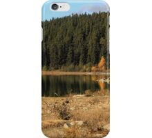 Pyramid Lake, Jasper National Park iPhone Case/Skin