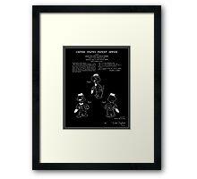 Jose Carioca Patent - Black Framed Print