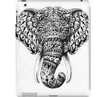 Ornate Elephant Head iPad Case/Skin