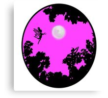 Moonlight Faerie Circle Canvas Print
