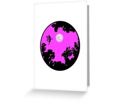 Moonlight Faerie Circle Greeting Card