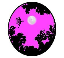 Moonlight Faerie Circle Photographic Print